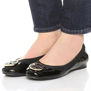 Tory Burch Caroline Patent Leather Ballet Flats 7